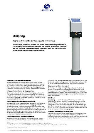 Datenblatt UrSpring
