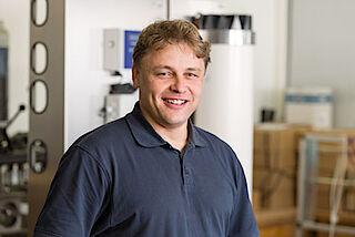 Wolfgang Augenstein, Wassertechnik Schwarzkopf