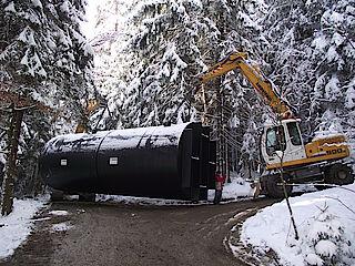 Sanierung Wasserwerk Langdorf