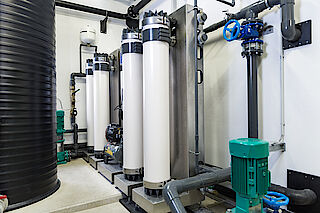 Entsäuerung Wasserr