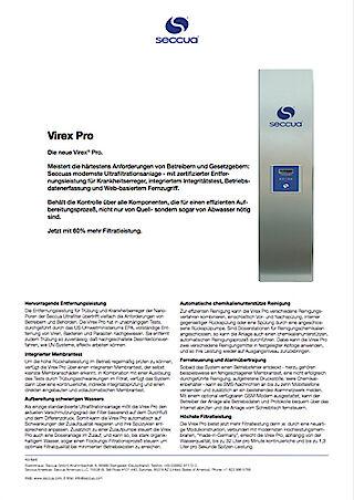 Prospekt Virex Pro