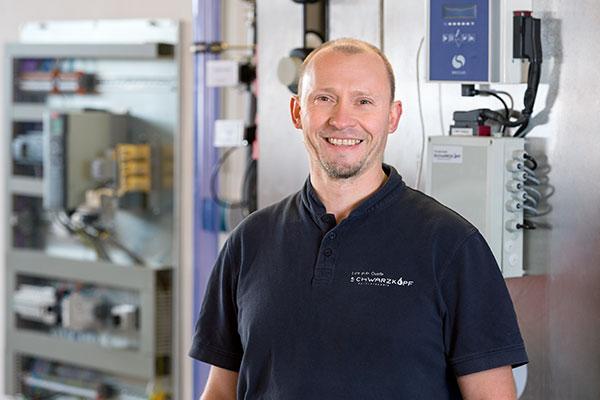 Christian Kaiser, Wassertechnik Schwarzkopf